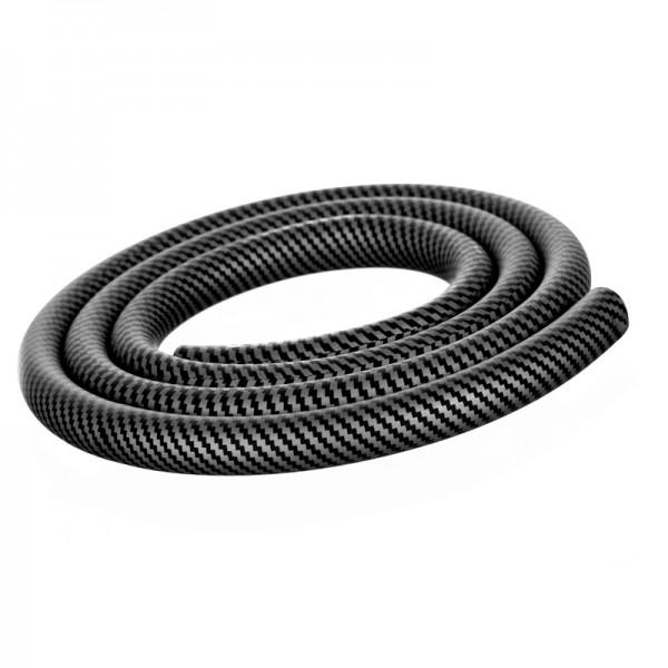 Softtouch Silikon-Schlauch 150cm carbon schwarz