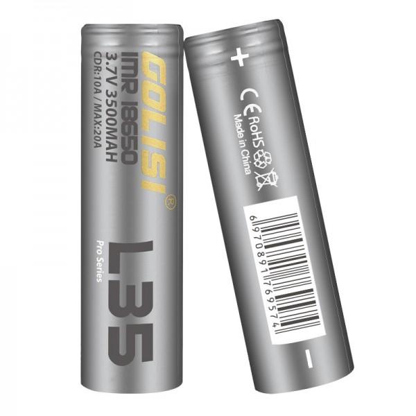 Golisi L35 18650 Batterie