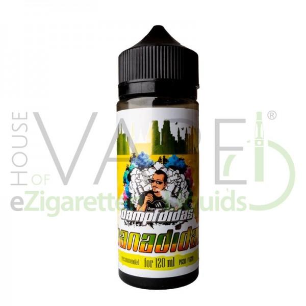 Dampfdidas Aroma Banadidas ♥ Milchshake mit Banane ✔ 18ml Longfill ✔ Einfach zu mischen ✔ Auch in unseren Shops ✔