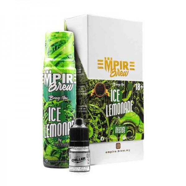 Ice Lemonade Liquid von Empire Brew ♥ 50ml Shortfill inkl. 10ml Chiller Shot ✔ Zitrone, Limette, wahlweise Eis ✔ Wahlweise mit oder ohne Kühle ✔ Schneller Versand ✔ In unseren Shops testen ✔