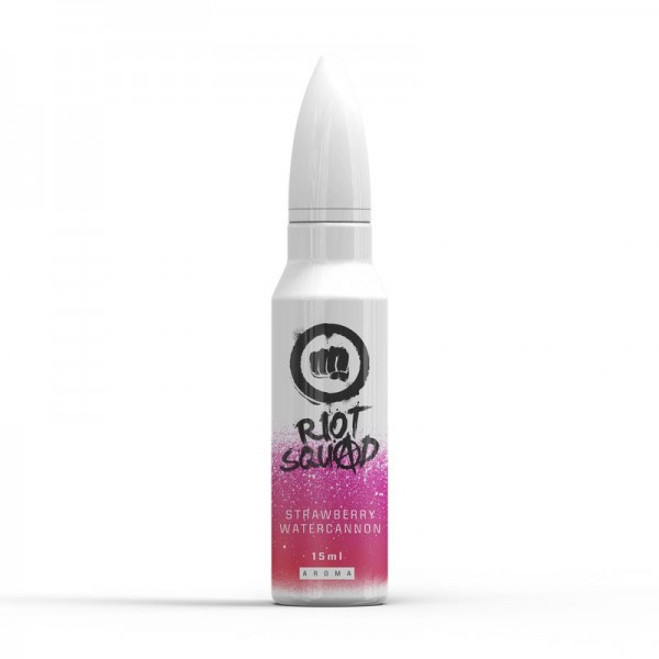 Riot Squad Shots Strawberry Watercannon ♥ Erdbeere, Wassermelone, Frische ✔ 15ml Longfill Aroma ✔