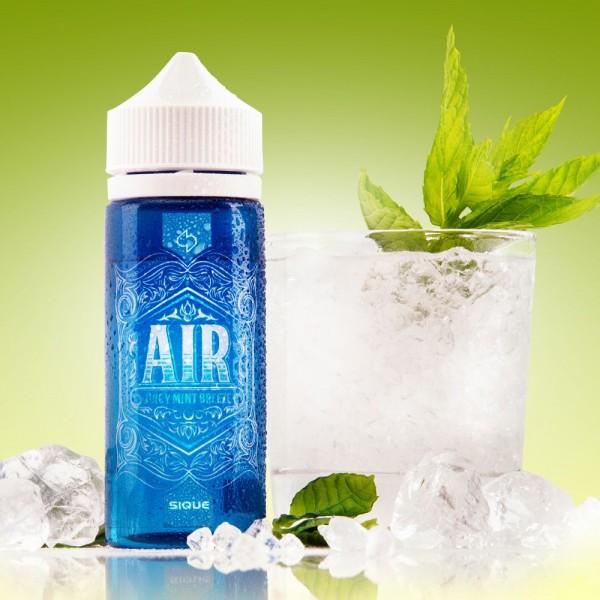 AIR Liquid von Sique ♥ 100ml Shake b4 Vape ✔ Minze-Kaugummi (Spearmint) ✔ Schneller Versand ✔ Auch in unseren Ladengeschäften ✔