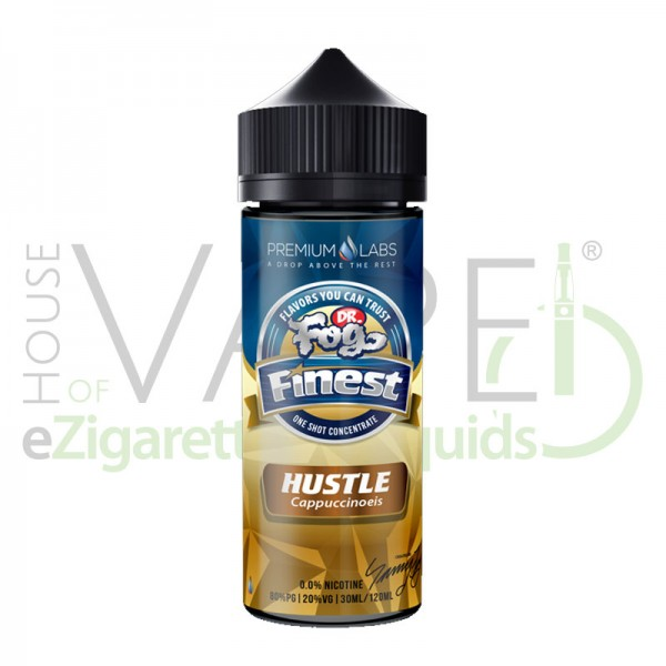 Dr. Fog Hustle (Finest Serie) ♥ Cappuccino-Eiscreme ✔ 30ml Longfill (Base einfüllen) ✔