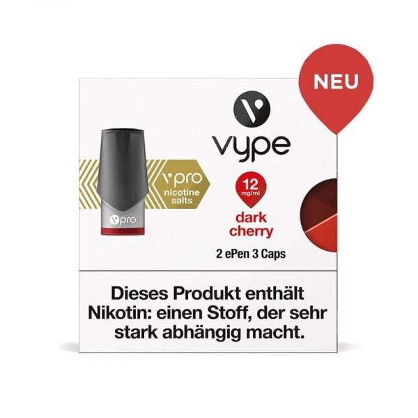 Vype ePen 3 vPro Caps Dark Cherry 2er Pack