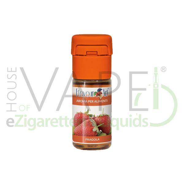 Erdbeere von FlavourArt ♥ Fruchtig-süß und reif ✔ Schneller Versand ✔ 2-6% Dosierung bei 2-7 Tag Reifezeit ✔ Ab 50€ Versandkostenfrei ✔