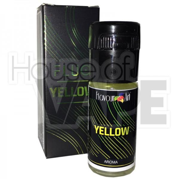Fluo Yellow Aroma von FlavourArt ♥ Cola-Zitrone ✔ 10ml ✔ 2-6% Dosierung bei 3-5 Tag Reifezeit ✔ Auch in unseren Geschäften ✔
