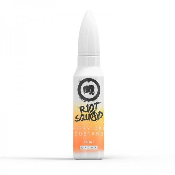 Fifty Cal Custard von Riot Squad ♥ Vanillepudding + X ✔ 15ml Longfill Aroma ✔ Einfach mit Base auffüllen ✔ Auch in unseren Shops ✔ Schneller Versand ✔