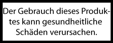 Warnhinweis Nikotinfrei
