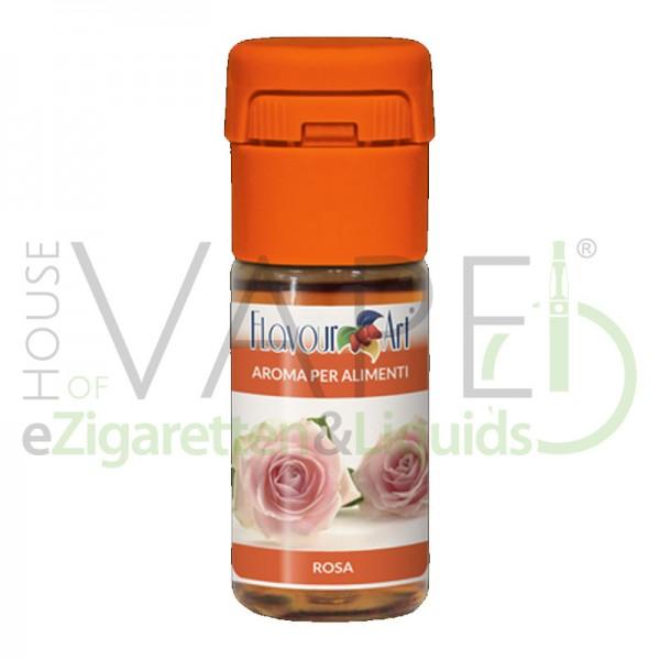 Rose von FlavourArt ♥ Herrlich blumig ✔ Schneller Versand ✔ 2-3% Dosierung bei 2-3 Tag Reifezeit ✔