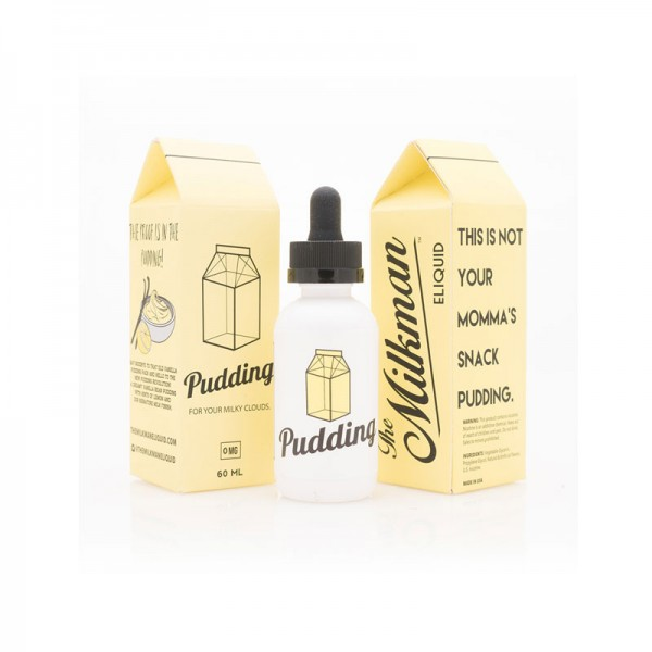 The Milkman Pudding ♥ The Vaping Rabbit ✔ 50ml Shortfill ✔ Pudding, Vanille, leichte Zitrone ✔