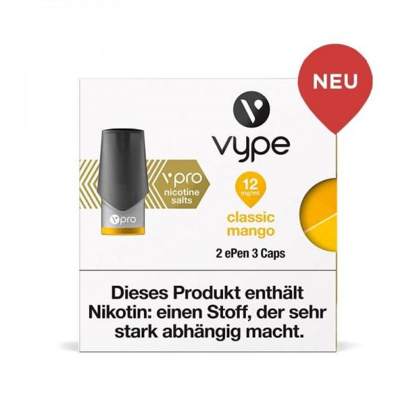 Vype ePen 3 vPro Caps Classic Mango 2er Pack