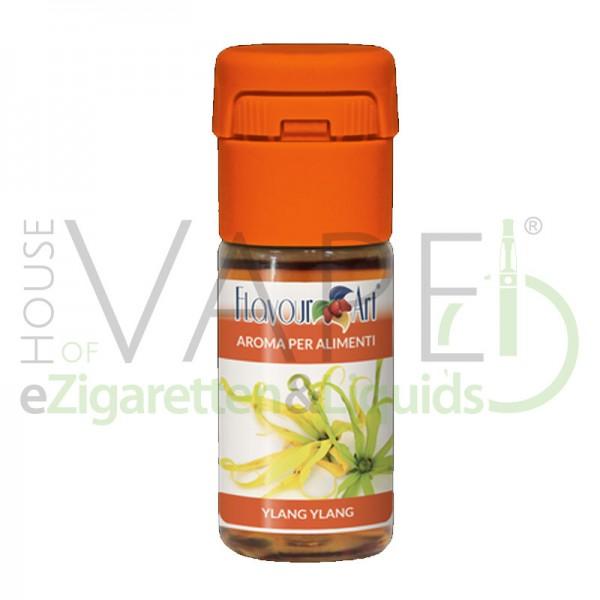 Yling Ylang von FlavourArt ♥ Fruchtig, exotisch, süß ✔ Schneller Versand ✔ 2-6% Dosierung bei 2-5 Tag Reifezeit ✔