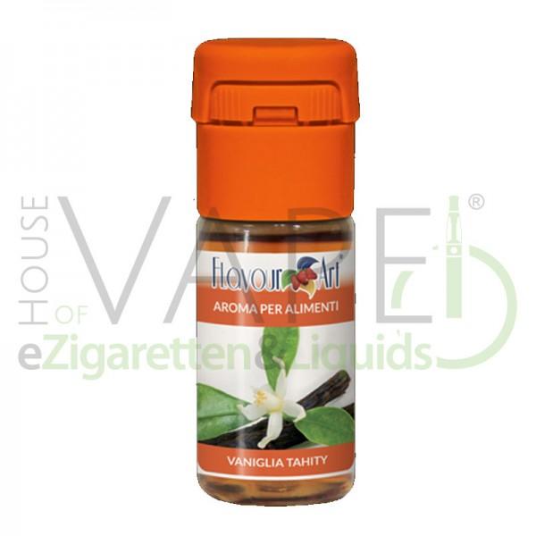 Vanille Tahity Aroma von FlavourArt ♥ Süße, blumige Vanille ✔ Schneller Versand ✔ 3-6% Dosierung bei 5-7 Tag Reifezeit ✔