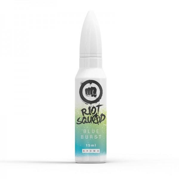 Blue Burst von Riot Squad ♥ Blauer, eisiger Slushi ✔ 15ml Longfill Aroma ✔ Einfach mit Base auffüllen ✔ Auch in unseren Shops ✔ Schneller Versand ✔