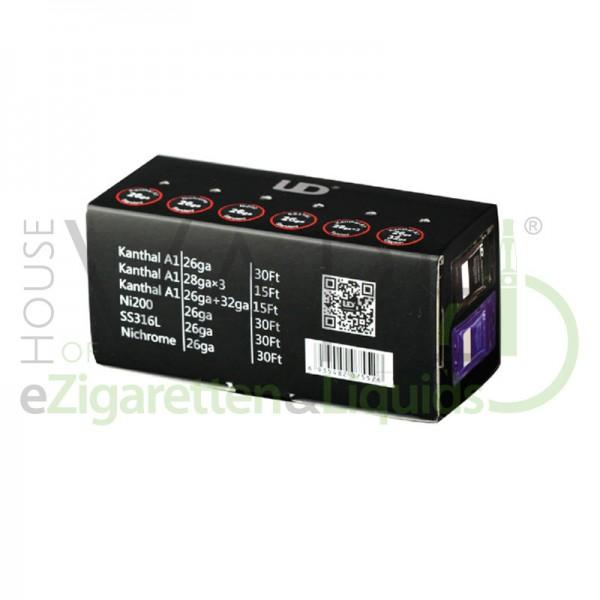 UD (YouDe) Wire Box ♥ 6x Draht auf Rolle ✔ Verschiedene Arten ✔ Ideal zum Ausprobieren ✔ Auch in unseren Shops ✔