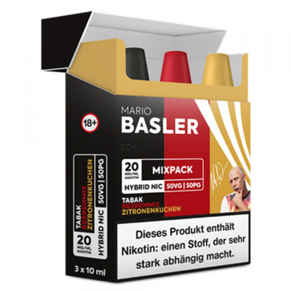 Mario Basler Mix Pack Nikotinsalz 10mg 20mg