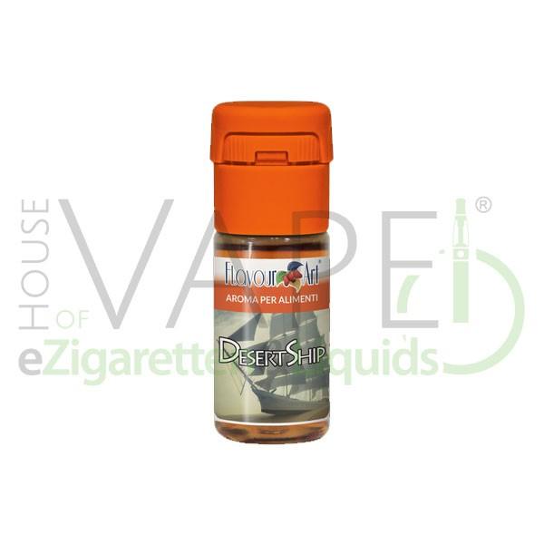 Desert Ship von FlavourArt ♥ Feinwürziger Tabak ✔ Schneller Versand ✔ 2-5% Dosierung bei 2-7 Tag Reifezeit ✔ Ab 50€ Versandkostenfrei ✔
