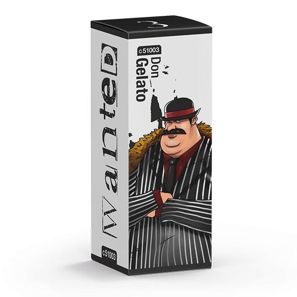 Wanted Don Gelato Aroma von Culami ♥ Warme Waffel mit Vanille ✔ 8-10% ✔ 10ml ✔ Auch in unseren Shops ✔