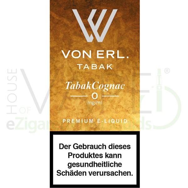 Tabak Cognac Liquid von Von Erl/My Blue ♥ Tabak mit Cognac ✔ TOP Preis ✔ Schneller Versand ✔ Günstig bestellen ✔