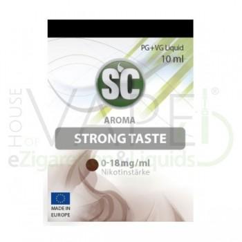 Tabak Strong Taste Liquid von SC SilverConcept