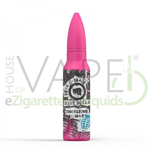 Bubblegum Grenade Liquid von Riot Squad ♥ Kaugummi, Zitronenlimonade ✔ Longfill ✔ 15ml ✔ Punk Grenade Serie ✔